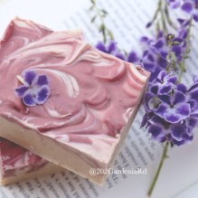 cherry blossom soap, jan 2016